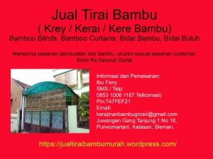 0853 1006 1187 (Telkomsel), Jual Tirai Bambu Murah